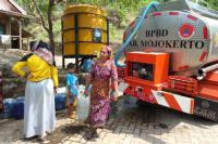 Musim Kemarau, Ribuan Warga Mojokerto Terancam Krisis Air Bersih