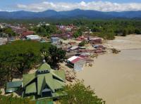 Hujan Deras, Banjir Kembali Rendam Masamba Luwu Utara