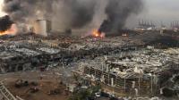 Dahsyatnya Ledakan di Beirut Picu Gempa Bumi, Guncangan Dirasakan Sampai Siprus