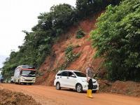 Paska Banjir, Alat Berat Dikerahkan untuk Bersihkan Material di Jalinbar Tanggamus