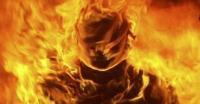 Wanita Paruh Baya Tewas Terbakar Diduga Bunuh Diri