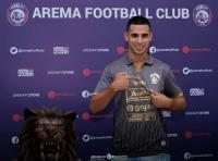 Elias Alderete Sudah Gabung Latihan Arema FC
