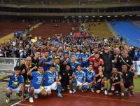 Persib Bandung Latihan Bersama di Lapangan 10 Agustus 2020