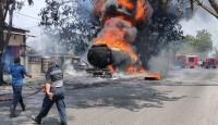 Truk Tangki Pengangkut 24 Kiloliter Pertalite Terbakar di Medan