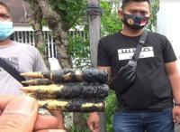 Petugas Kebersihan Ketakutan Temukan 23 Butir Peluru Aktif