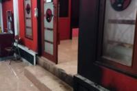 Lagi, Kantor PDIP Dilempar Bom Molotov Terekam CCTV
