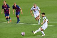 Barcelona vs Napoli, Insigne Sesalkan Buruknya Penyelesaian Akhir