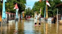 Banjir 1 Meter Rendam Ratusan Rumah di Pinrang