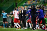 Kalahkan Atletico, Gelandang Leipzig Angkat Topi untuk Rekan-rekannya