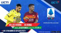 Saksikan Laga Hellas Verona vs AS Roma di RCTI !