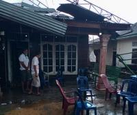 Angin Puting Beliung Terjang Deli Serdang, 3 Warga Luka dan 56 Rumah Rusak