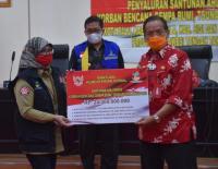 Ribuan Ahli Waris Korban Tsunami Sulteng Terima Sisa Santunan Rp24,3 Miliar