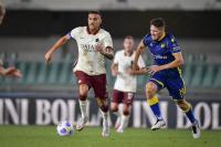 Skor Kacamata Akhiri Laga Hellas Verona vs AS Roma