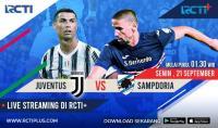 Live Streaming Juventus vs Sampdoria Bisa Disaksikan RCTI