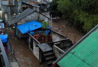 Banjir Bandang Terjang Cicurug Sukabumi, 12 Rumah Hanyut