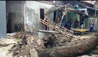 Puluhan Rumah di Cirebon Rusak Diterjang Angin Kencang