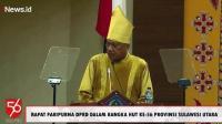 Makna di Balik Gubernur Olly Pakai Pakaian Adat Sangihe saat HUT Ke-56 Sulut