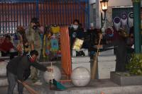 Terjaring Razia Tak Pakai Masker, 70 Orang Bersihkan Kawasan Malioboro