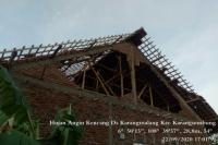 Diterjang Puting Beliung, 2 Orang Terluka & 25 Rumah Rusak di Cirebon