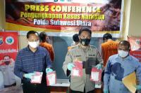 3 Orang Sindikat Pengedar Narkoba Antar Provinsi Ditangkap