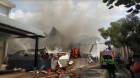 Gudang Kosmetik & Popok Bayi di Malang Terbakar, Kerugian Rp3 Miliar