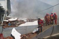 Kronologi Kebakaran Hebat Hanguskan Gudang Popok Bayi di Malang