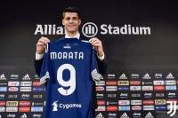 Morata: Saya Tak Pernah Berencana Tinggalkan Juventus
