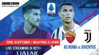 Live Streaming AS Roma vs Juventus Dapat Disaksikan di RCTI