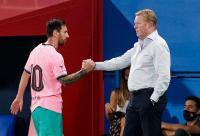 Messi Sedih Ditinggal Suarez, Koeman: Itu Normal