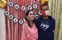 Kepincut Goyangannya di Medsos, Pemuda Ini Nikahi Nenek Luna Maya