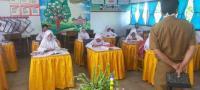 Murid SD di Merangin Mulai Belajar Tatap Muka di Tengah Pandemi Covid-19