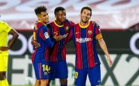 Messi-Griezmann Tukar Posisi, Ansu Fati Setia di Winger Kiri Barcelona