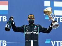 Menang di F1 GP Rusia 2020, Bottas Luapkan Rasa Gembira