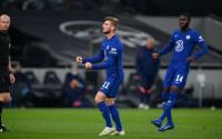 Berkat Werner, Chelsea Unggul Atas Tottenham di Babak Pertama
