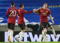 Atasi Brighton 3-0, Man United Maju ke Perempatfinal Piala Liga Inggris 2020-2021