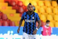 Vidal Sempat Dikira Cedera di Laga Benevento vs Inter, Conte: Dia Jagoan