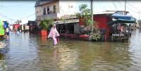 Ribuan Rumah Warga Terendam Banjir Rob
