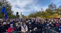 Ribuan Berdemonstrasi di Prancis, Peringati Guru yang Dipenggal karena Kartun Nabi Muhammad