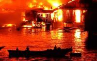 Kebakaran Hebat di Jayapura, Puluhan Rumah Hangus Dilalap Api