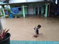 Seperti Palopo, Ketinggian Banjir di Kota Pangkalpinang Capai 1 Meter