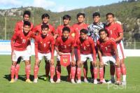Bagas Kaffa Bawa Timnas Indonesia U-19 Ungguli Hajduk Split di Babak Pertama