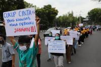 Gelar Aksi Damai, Pelajar: Jangan Provokasi Kami!