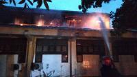 Fakultas Teknik Universitas Negeri Medan Terbakar