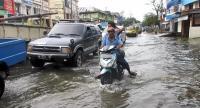Diguyur Hujan Deras, Jalan Marelan Raya Terendam Banjir