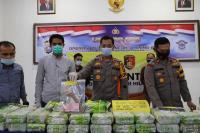 Polisi Sita 50 Kg Sabu yang Ditemukan di Kebun Sawit