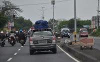 Masuk Jateng, Mobil Pemudik Wajib Bawa Antiseptik