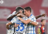 Kalahkan Genoa 2-0, Inter Pepet AC Milan di Puncak Klasemen Liga Italia