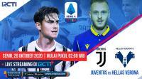 Live Streaming Juventus vs Hellas Verona Dapat Disaksikan di RCTI+
