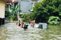 Banjir di Kota Bogor Kian Meluas