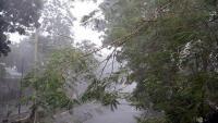 Kelurahan Bojong Menteng Bekasi Disapu Angin Puting Beliung